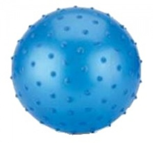 Toyrific Ball with nubs 15 cm blue