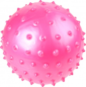 Toyrific Ball with nubs 15 cm pink