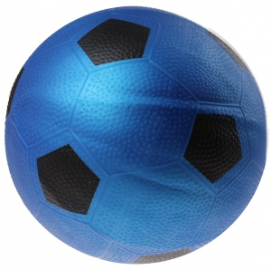 Toyrific Ball football print 21 cm blue