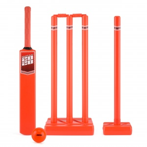 Toyrific cricketset Powerplay 2020 maat 5 rood 10-delig