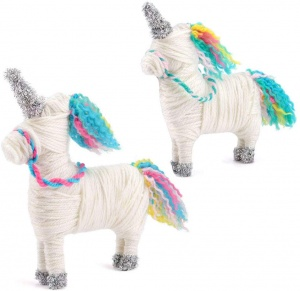 Toyrific craft set Yarn AnimalsUnicorn junior 22-piece