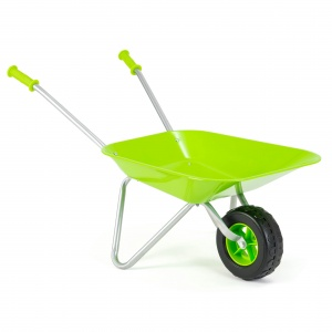 Toyrific wheelbarrow Little Roots green