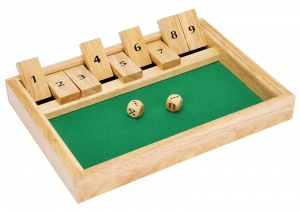 Toyrific Shut the Box Dice Game