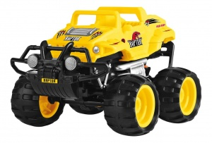 Toyrific Smash Ups Monstertruck Raptor geel 23 cm