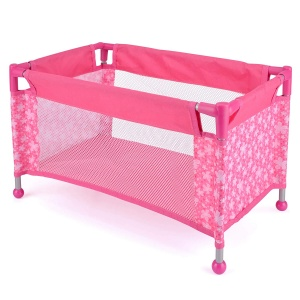 Toyrific snuggles camping bed doll 52 x 31 x 31 cm pink