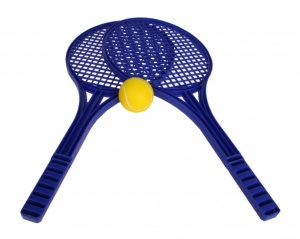 Toyrific Soft Tennisset 53 cm blue