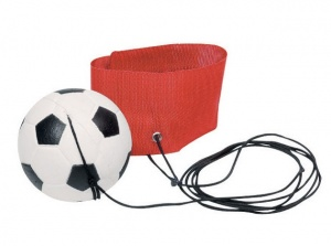 Toys Pure Fussball Armband: Red 6.3 cm