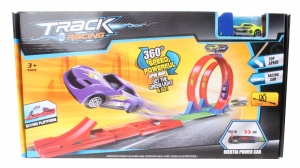 TOM lanceerbaan Track Racing 360 graden looping junior 143 cm
