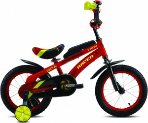 Troy Racer 16 Inch Boys Coaster Brake Red