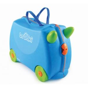 d7b763f793ce Trunki suitcase Ride-On Terrance 18L blue