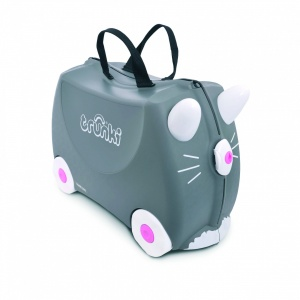 ae3122d10dc1 Trunki Ride-On Suitcase Benny Cat