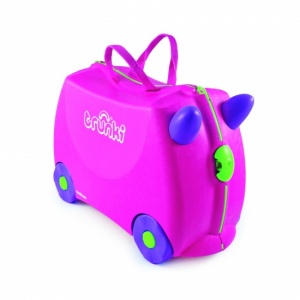 Trunki Ride-On koffer Trixie 18 liter roze