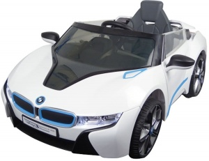 BMW i8 battery 6V car white