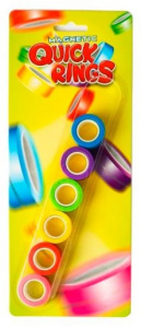 Toys Amsterdam Quick Rings magnetic 6 pieces