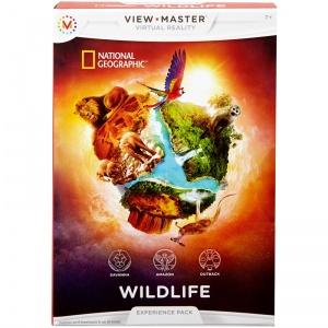 View-Master Expérience pack: faune National Geographic