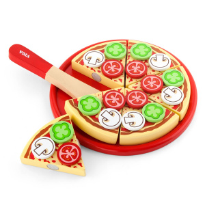 Viga Toys pizza 23 cm Junior-Holz