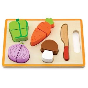 Viga Toys shaped board jigsaw puzzle cut vegetable junior 22 x 15 cm wood