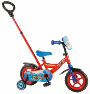 Volare Paw Patrol 10 Inch Boys Fixed Gear Red