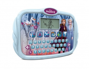VTech Frozen II - Tablette Qwerty 30 cm blau