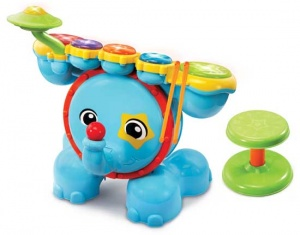 VTech Rock & Leer Drumstel junior blue