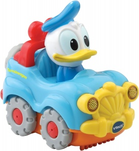 VTech Toet Toet car: Donald Duck in car light blue