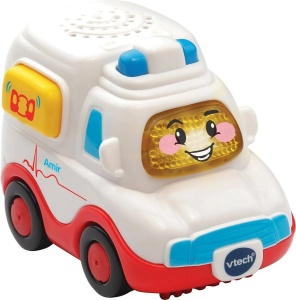 VTech Toet Toet car: Amir Ambulance 13 cm white