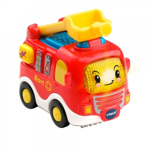 VTech Toet Toet car - Bart fire brigade 13 cm red