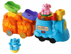 VTech ZoomiZooz Travel & Leather Locomotive 350 cm multicolor