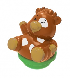 VTech ZoomiZooz TuimeldiertjeKate Cow 8,5 cm brown