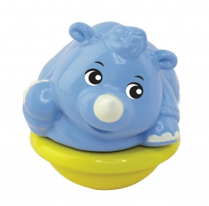 VTech ZoomiZooz Tuimeldiertje: Old Rhinoceros 8.5 cm blue