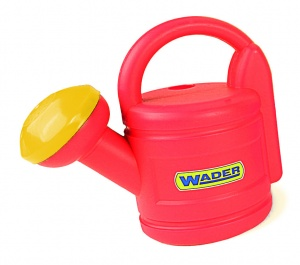 Wader watering can 21.5 cm 1.8 litres red