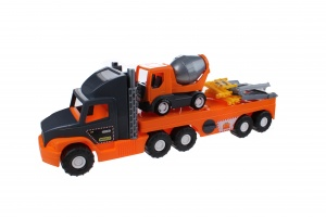 Wader Super Tech Truck charger with concrete trolley