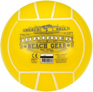 Waimea Beach ball 13 cm yellow