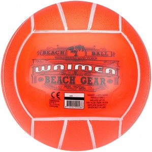 Waimea Beach ball 13 cm orange