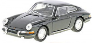 Welly auto Porsche 911 pull-back 1:24 staal grijs