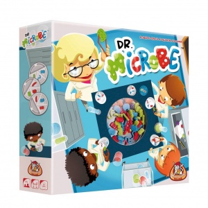 White Goblin Games parlor game dr. Microbe
