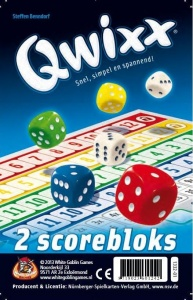 White Goblin Games Qwixx Scoreblocks