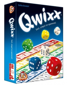 White Goblin Games Qwixx dice game