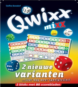 White Goblin Games expansion set Qwixx Mixx