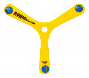 Wicked boomerang Sonic Booma29,6 cm foam yellow