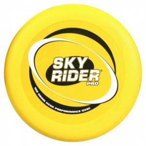 Wicked frisbee Sky Rider Sport28 cm yellow 125 grams