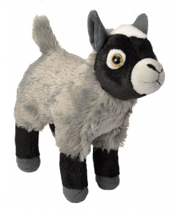 Wild Republic cuddly toy kid junior 20 cm plush grey/black