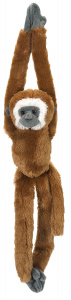 Wild Republic cuddly toy Lar gibbon 51 cm plush brown