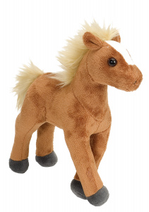 Wild Republic cuddly toy foal junior 20 cm plush brown