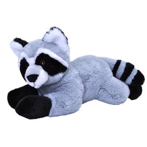 Wild Republic cuddly raccoon Ecokins Mini junior 20 cm plush grey