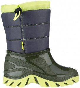 Winter-Grip snowboots Jelly Walker junior vert / bleu