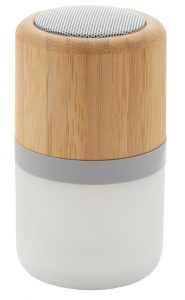 XD Collection speaker met licht bluetooth bamboe/ABS naturel