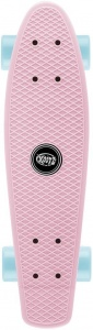 Xootz skateboard Single 55 cm roze