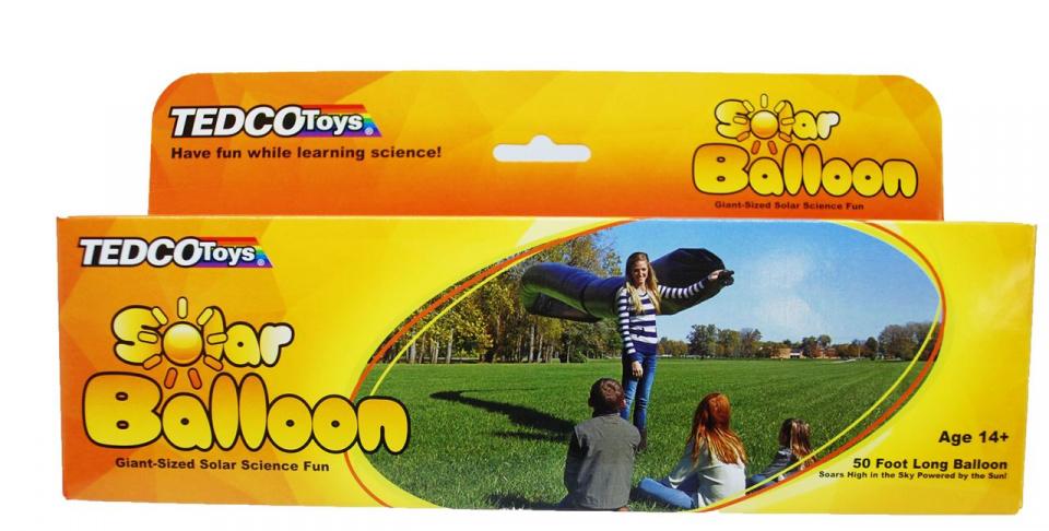Tedco toys solar ballon 15 meter zwart