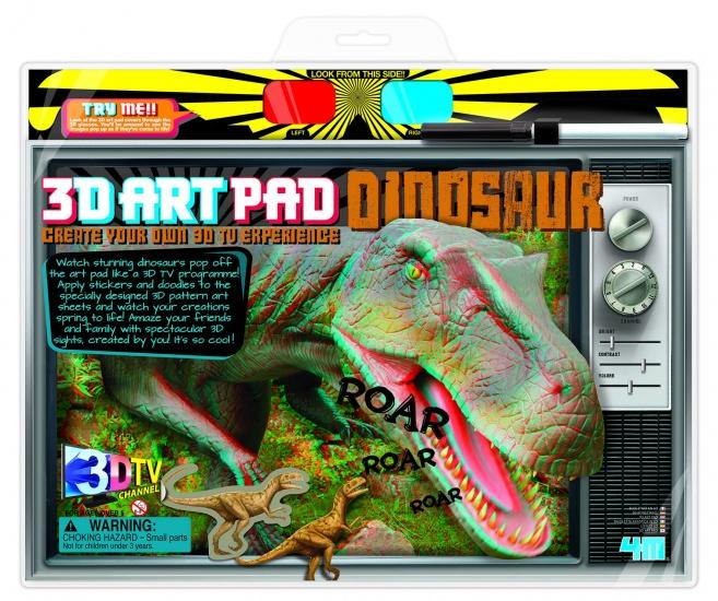 4M Crea 3D ART Pad: Dinosaurus